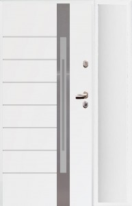 drzwi zewnętrzne z doświetleniem