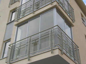 zabudowa balkonu ramowa